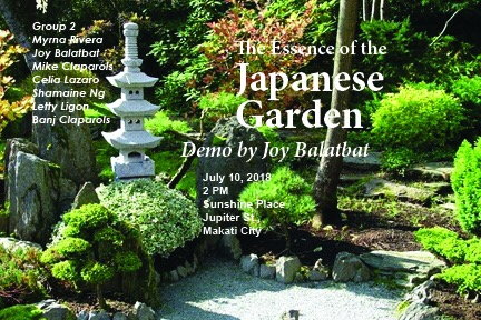The essence of the Japanese garden July 10, 2018